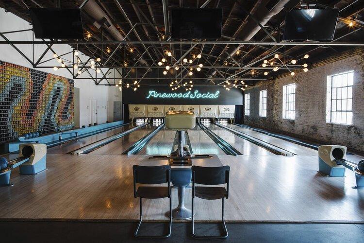 Pinewood Social Bowling