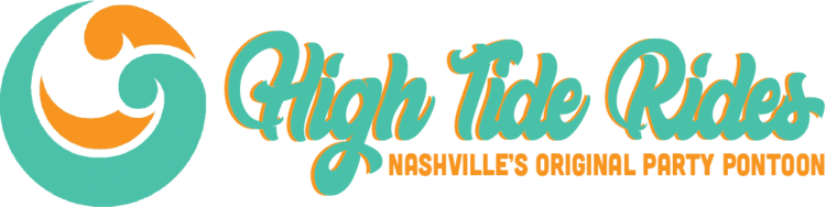High Tide Rides Wrist Band Logo